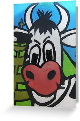 NI Cow Card by grarbaleg