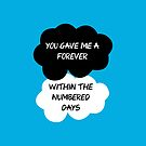 "The Fault In Our Stars / TFIOS by John Green - ""You Gave Me A Forever Within The Numbered Days"" by runswithwolves"