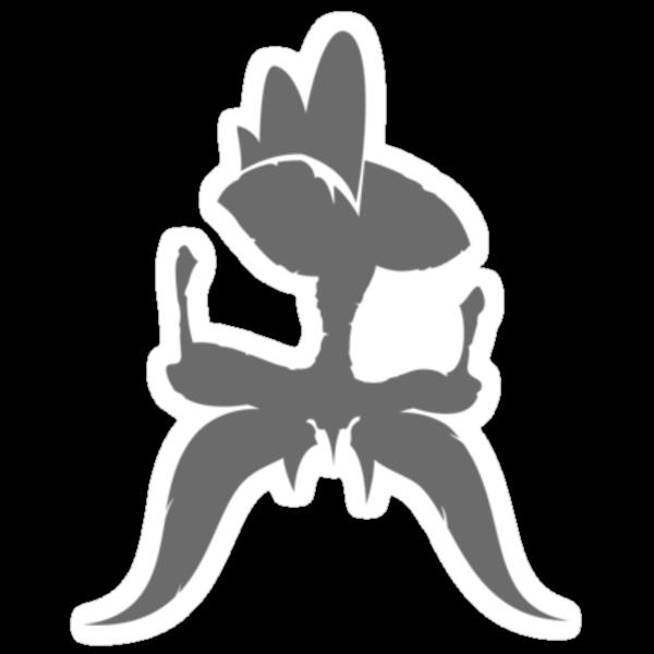 Skiosaur Skull Small Grey by nopps