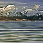 Snow Capped Arran Digital Art by David Alexander Elder