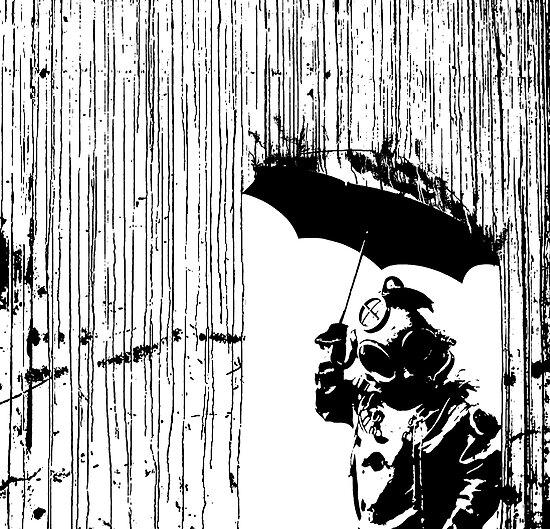 toxic rain     by derP