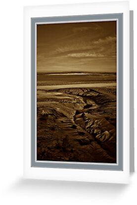 "Mount St Michael... ""The golden Sands"" by Karo / Caroline Evans (Caux-Evans)"