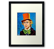Wonka Framed Print