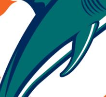 Miami Football Sticker