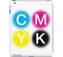 CMYK 2 iPad Case/Skin