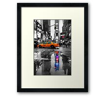 Times Square Framed Print