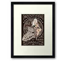 Mother of Dragons Framed Print