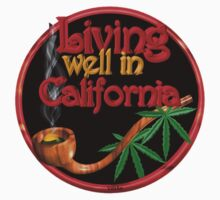 Living well in California w/ cannabis/marijuana  by Valxart