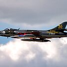 Hawker Hunter F.58  by Andrew Harker