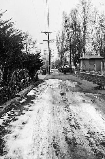 B&W Alley Way by Jake Kauffman