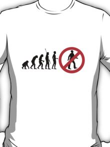 Stop Sign Evolution T Shirt T-Shirt