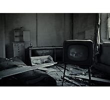 Too Much TV Will Kill You Photographic Print