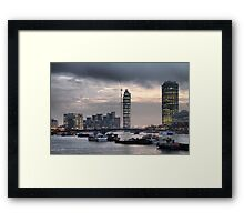 London skyline Framed Print
