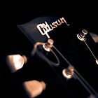 Gibson Les Paul Headstock by Paul Shellard