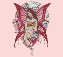 Pink Fairy & Ginger Cat by meredithdillman