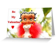 Betty Boop Valentine - Day Greeting Card