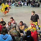 first nations pow wow by Bruce  Dickson
