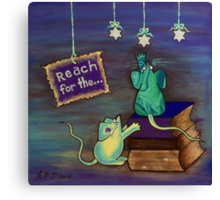 Reach for the STARS Canvas Print