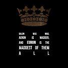 King Euron by sophiestormborn