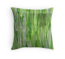LIVING GREEN Throw Pillow