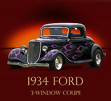 1934 Ford Coupe w/ID by DaveKoontz