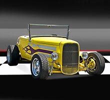 1930 Ford Model A Roadster w/o ID by DaveKoontz