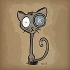 Button Eyed Cat by BenVess
