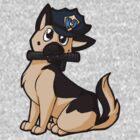 K-9 G-Shep Cop by Eevachu