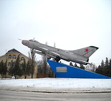 Monument Airplane. Taganrog.Russia. by Vitta