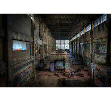 Derelict Factory Geelong Photographic Print