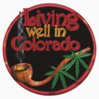 Living well in Colorado w/ cannabis/marijuana  by Valxart