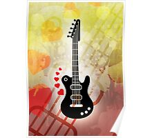 A Guitar for a Love Serenade Poster