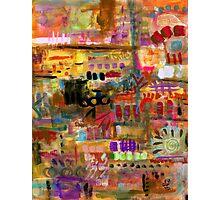 Playful Brushstrokes Photographic Print