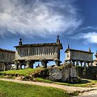 Soajo granaries in Portugal by vribeiro