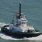 Tractor Tug &#x27;America&#x27; by Barrie Woodward