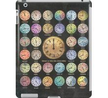 There Is A Time for Everything iPad Case/Skin