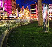 Bright lights of London by Jasna