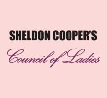 Sheldon Cooper's Council of Ladies by cocolima