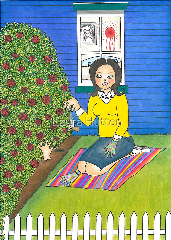 The Vengeful Desperate Housewife by Laura Hutton