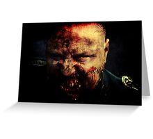 Zombie General Greeting Card