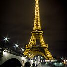 Eiffel Tower by Night by Philip Kearney