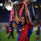 Thierry Henry Champions League Cup Poster by Thierry Henry14.net