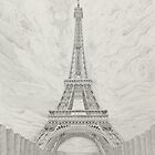The Eiffel Tower by Matan Chaffee