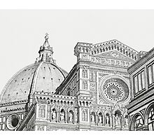 The Florence Cathedral Photographic Print