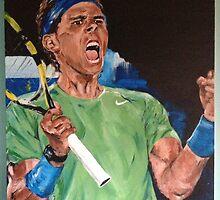 Rafa Nadal by weiwei