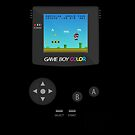 Retro Nintendo Game Boy Super Mario Dark iPad Case / iPhone 5 Case / iPhone 4 Case / T-Shirt   by CroDesign