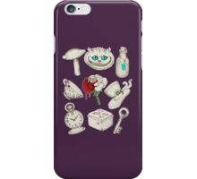 Wear To Wonderland iPhone Case/Skin