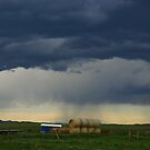 Stormy skies, Montana by Claudio Del Luongo