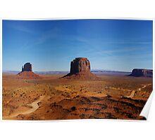 Monument Valley impression, Arizona Poster