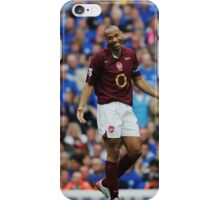 Thierry Henry - Arsenal iPhone Case/Skin